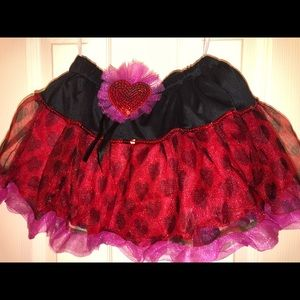 Costumes - Love bug Tutu skirt costume nwt